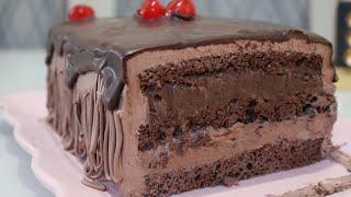 Bolo Mix de Chocolate ao Leite com Meio Amargo inspirado em confeitaria famosa!