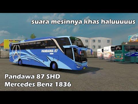 Pandawa 87 Bus SHD Full Music Euro Truck Simulator 2
