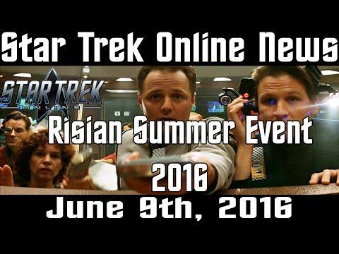 Star Trek Online News - 6-9-2016 - Risian Summer Event 2016