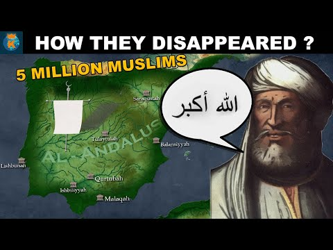 What happened with the Muslim Majority of Spain and Portugal?