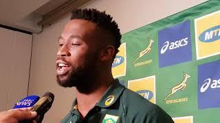 xhosa video siya kolisi on the first test vs england