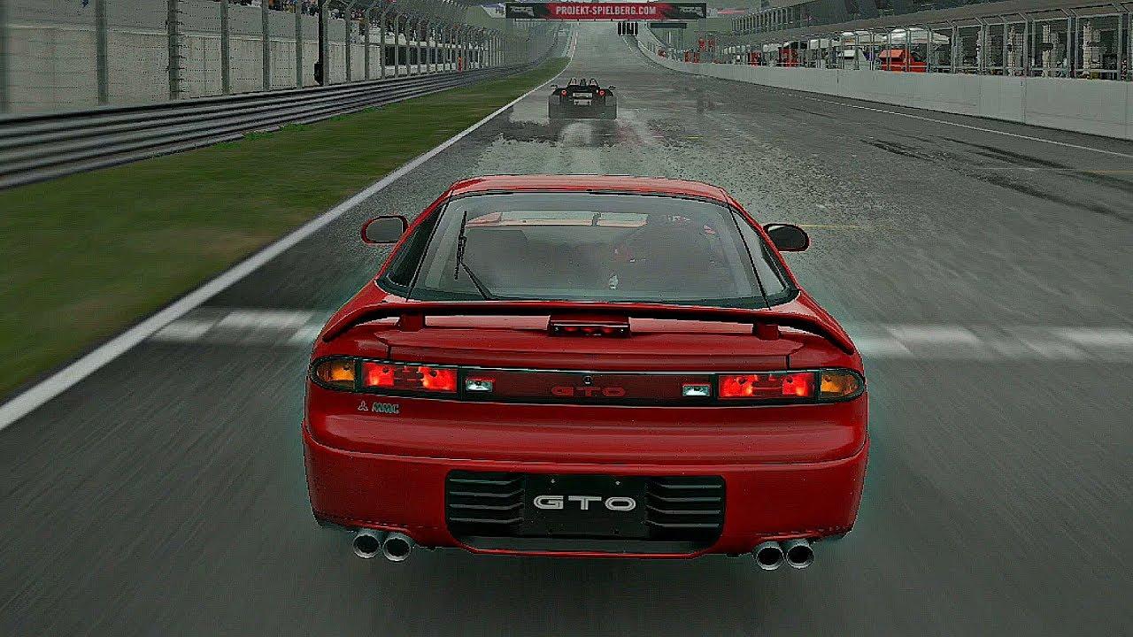 Gran Turismo Sport - RAIN Gameplay Mitsubishi GTO Twin Turbo @ Red Bull Ring [1080p 60fps]