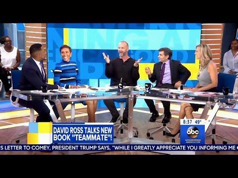 David Ross - Chats DWTS Season 24 & New Book - GMA