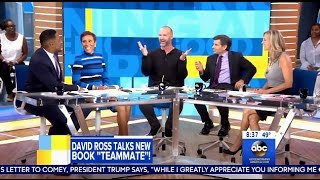 David Ross - Chats DWTS Season 24 & New Book - GMA