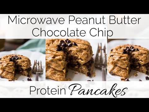 how-to-make-microwave-peanut-butter-chocolate-protein-pancakes