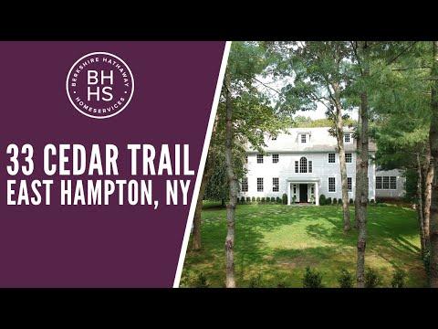 Welcome To 33 Cedar Trail, East Hampton, NY Virtual Tour | East Hampton Homes For Sale