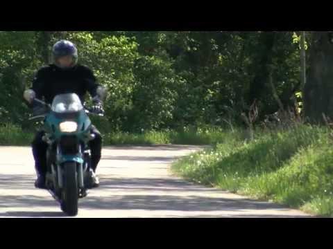 Crashtest 2014 Motorrad Auffahrunfall 60 km/h