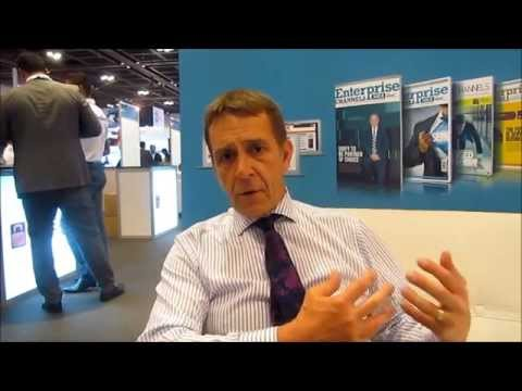 Brian Lord, Cyber Operations and Capability Director, PGI at the UAE Security Expo - Gisec 2014