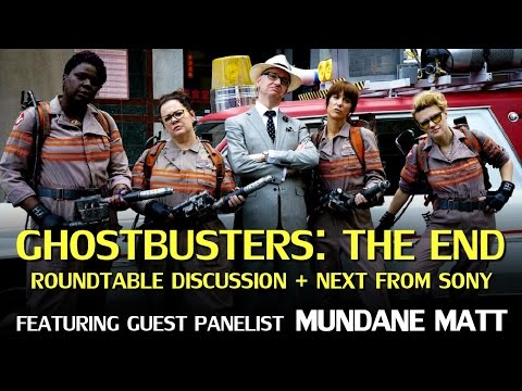 Ghostbusters: The Final Word – Roundtable Discussion feat. Mundane Matt