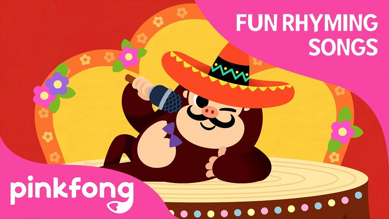 La La Gorilla | Fun Rhyming Songs | Pinkfong Songs for Children
