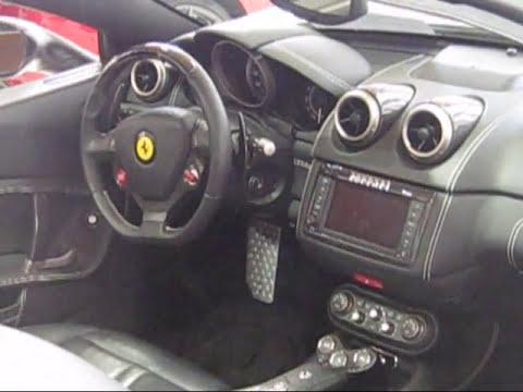 Ferrari California Inside And Dashboard Details