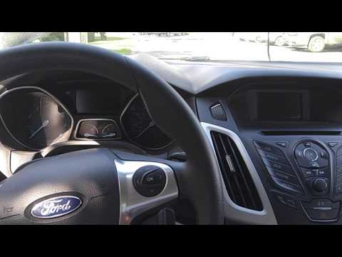 2013 Ford focus starting with no dashboard
