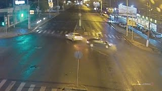 Пьяное ДТП в Волгограде попало на видео