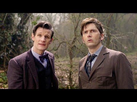 Встреча 10 и 11 Доктора | День Доктора | Доктор Кто