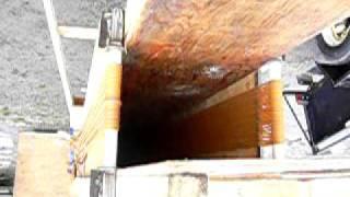 Vancouver Junkyard Wars 2009 - Pumpkin Launcher Muzzle Cam