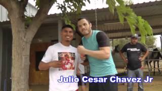 Mikey Garcia & Julio Cesar Chavez Jr In Camp - EsNews