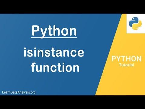 Python isinstance Function | Python Tutorial thumbnail