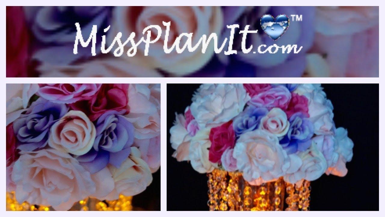 Diy Floral Chandelier Centerpiece Wedding Centerpieces On A Budget