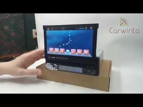 Магнитола универсальная бездисковая 1 Din Android QR-7123