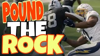 POUND THE ROCK ALL GAME! BEST POWER RUN PLAY SCHEME IN MADDEN 20! OFFENSE MONEY PLAY TIPS AND TRICKS