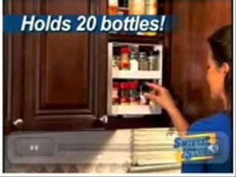 As Seen On Tv Spice Rack Best Swivel Store Organizer Best Of As Seen On TV YouTube