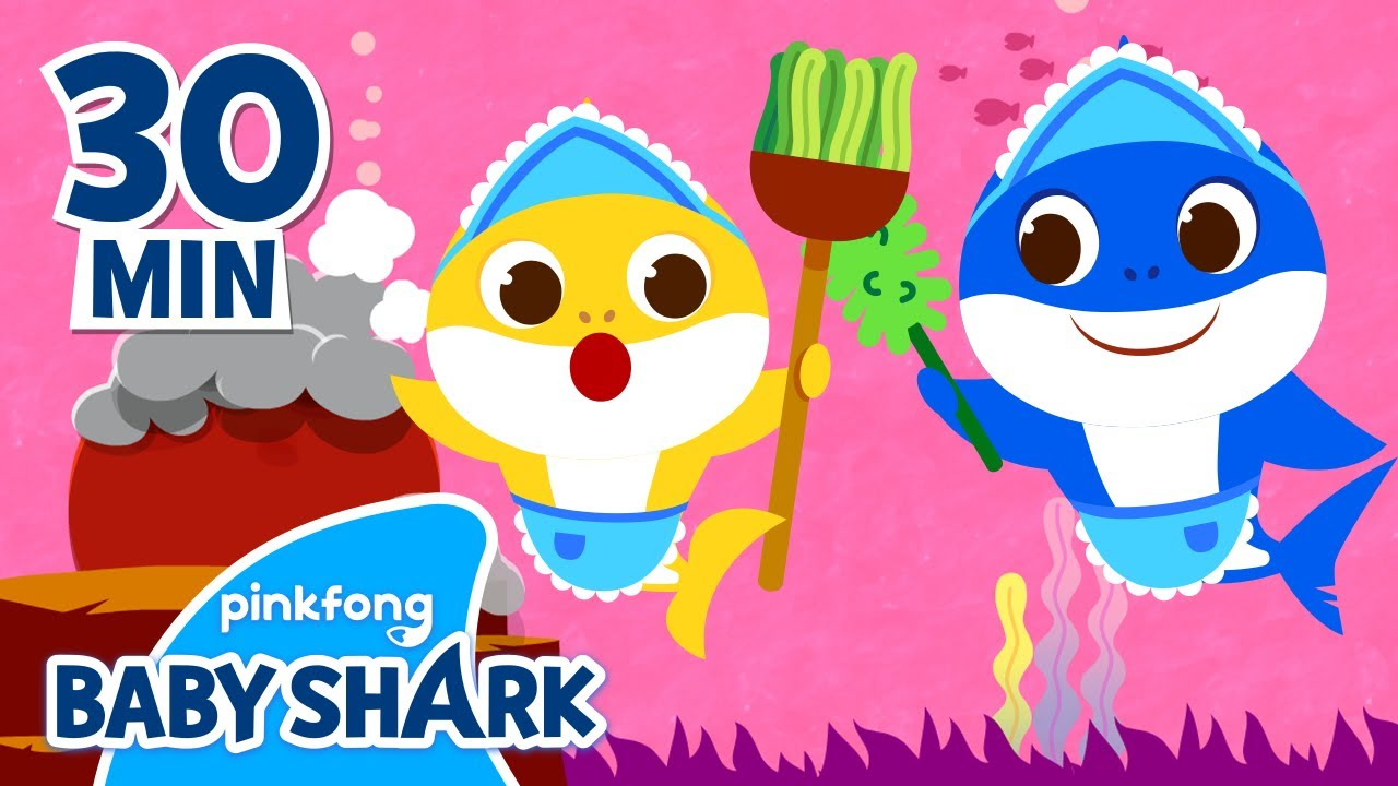 Time to Clean the Sea with Baby Shark! | Earth Day Songs | +Compilation | Baby Shark Official
