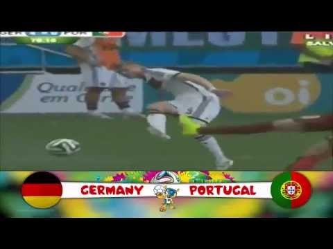 Highlights Full Goal Germany Vs Portugal  4   0  World Cup 2014