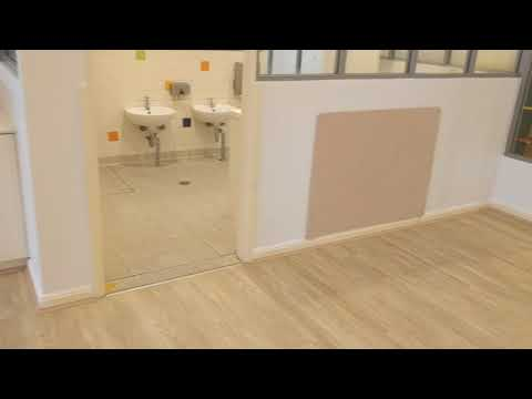 Day Care Installation of WPC Vinyl Plank Flooring Ref 6006-6