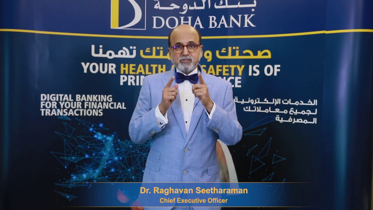 Doha Bank Committed To Your Wellbeing Message From Ceo Doha Bank Qatar