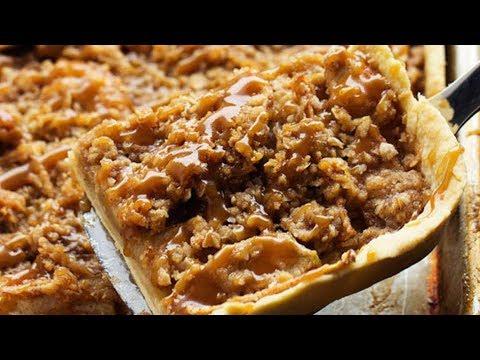 Caramel Apple Slab Pie Recipe ||Tasty Recipes