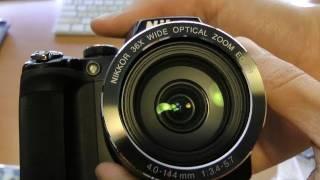 Unboxing: Nikon COOLPIX P500