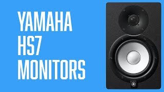 Yamaha HS7 Monitors | Overview