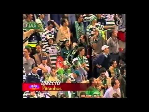 34J :: Salgueiros - 0 x Sporting - 4 de 1999/2000 - Jogo do Título