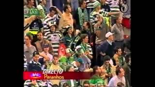 Salgueiros 0-4 Sporting, 99/00 (jogo completo + reportagens)