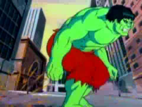 The Incredible Hulk intro animated series (1982)