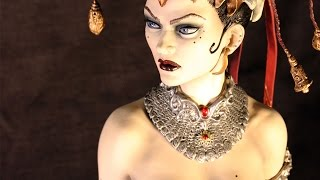 Unboxing Review Queen of the Dead Premium Format Figure Sideshow Collectibles Court of the Dead