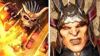 Mortal Kombat 11 Shao Kahn Death Scene Vs Mortal Kombat 9 Shao Kahn Death Scene Comparison