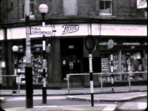 Chelmsford town centre 1963 UK