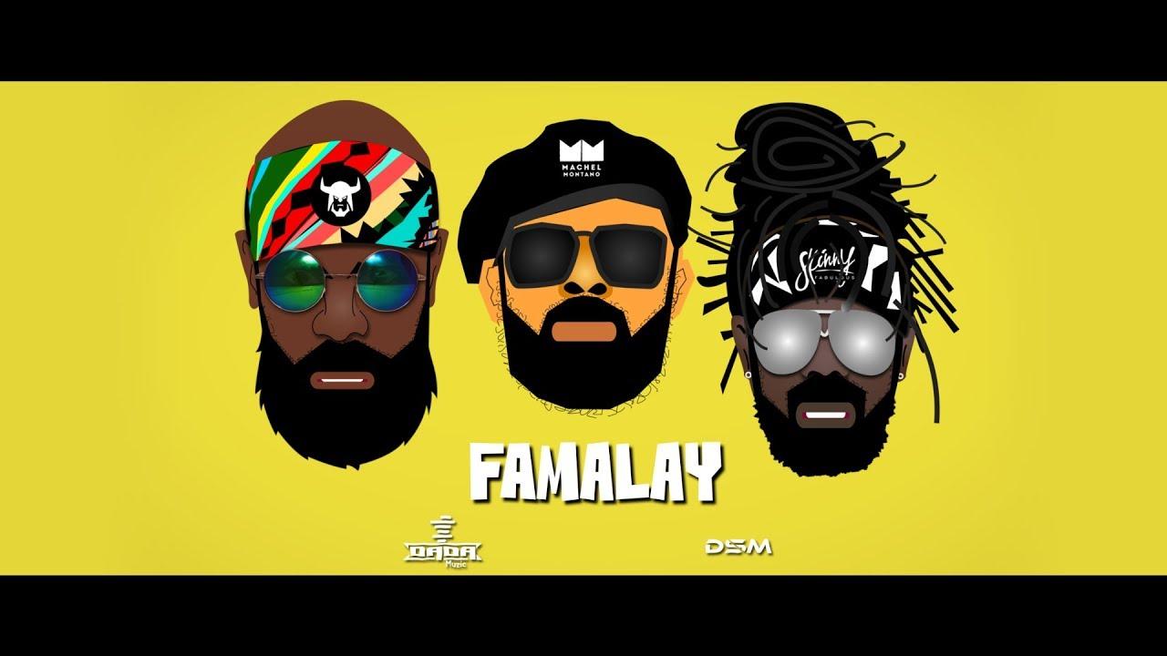 "Skinny Fabulous: ""Famalay"" (Official Lyric Video) Ft. Machel Montano, Bunji Garlin"