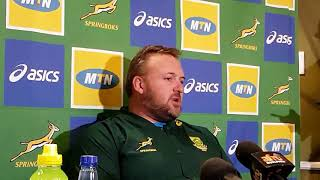 Matt Proudfoot on the different coaching styles of Rassie Erasmus and Allister Coetzee