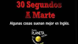 Planeta 107.7 [Spot Publicitario] con 30 Seconds To Mars