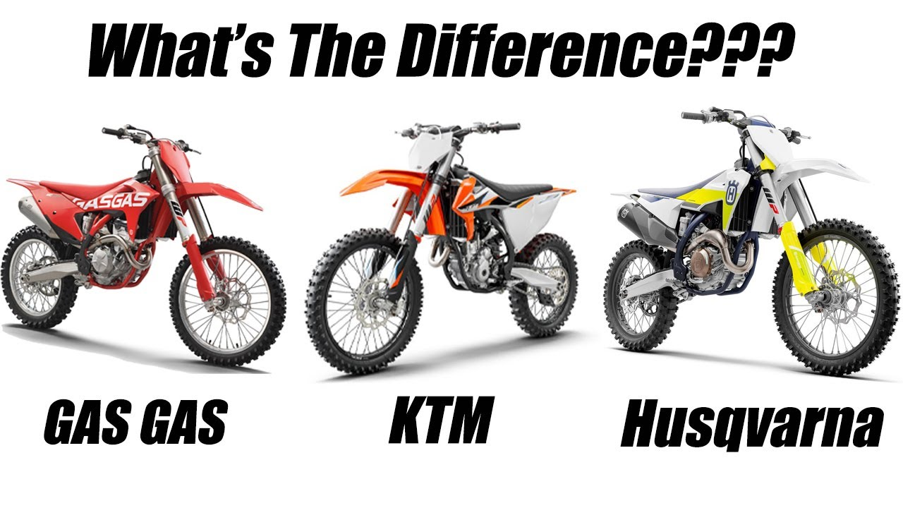 Gas Gas, KTM and Husqvarna....Whats the difference?