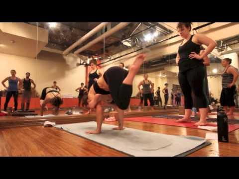 Yoga Tips with Christina sell eka pada galavasana or flying pigeon pose