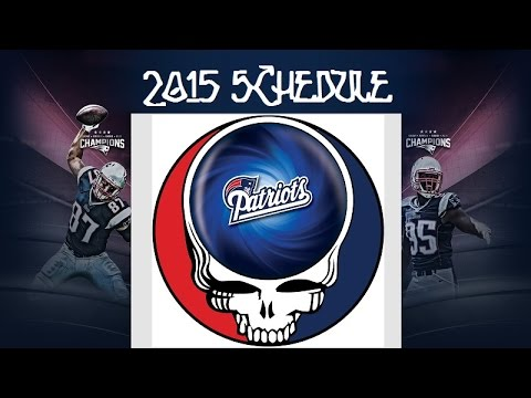 new england patriots 2015 schedule youtube