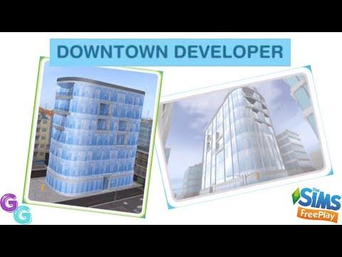 Sims Freeplay 🏙 Downtown Developer Event Walkthrough