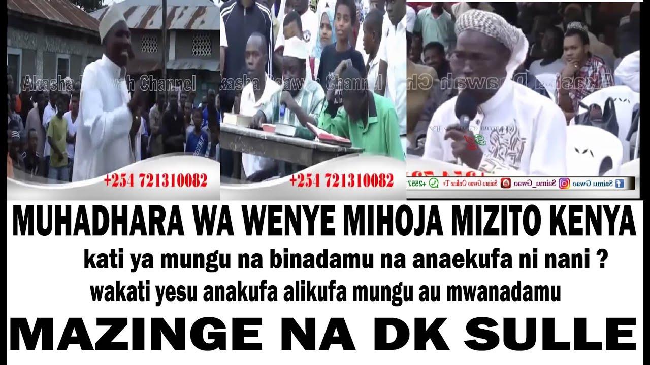 Download MAZINGEA ALIPOMKARIBISHA DK SULE NCHINI KENYA HOJA ZA HATARI SANA JUU YA UUNGU WA YESU/ DINI YAJE ..