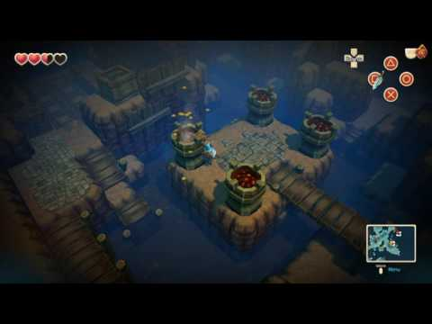 Oceanhorn Bomb Island/Abandoned Mines-Battle With Cepedes