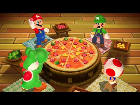 Mario Party 9 - All Minigames (2 Player)