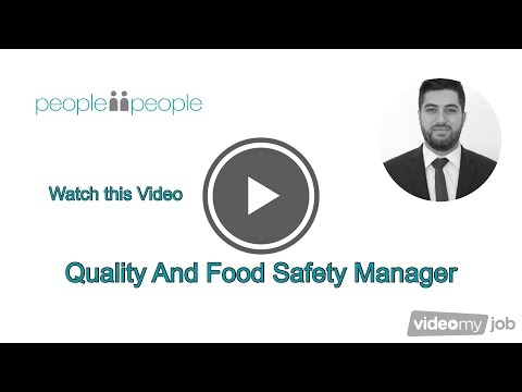 Quality And Food Safety Manager - Sydney Southern Suburbs