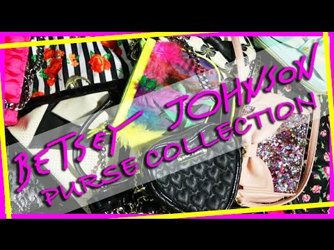 Betsey Johnson Purse Collection